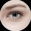 Linkes Auge einer Frau